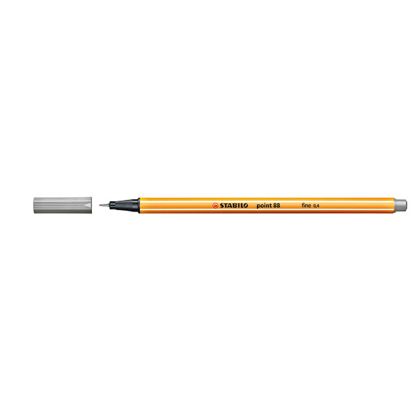 Stabilo Point 88 Fineliner Light Grey