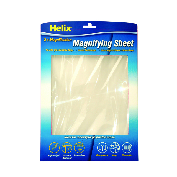 Helix Magnifying Sheet A4