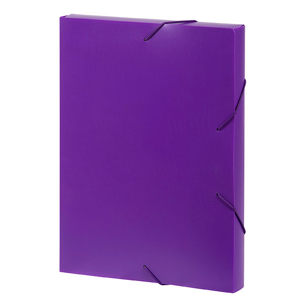 Marbig® Document Box A4 Purple (Pack of 10)