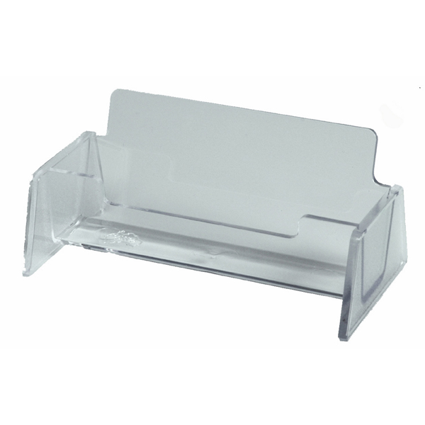 Esselte Business Card Holder Clear
