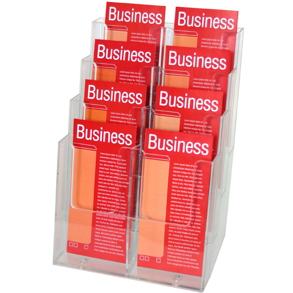 Esselte Brochure Holder Free Dl 4t-8 Comp