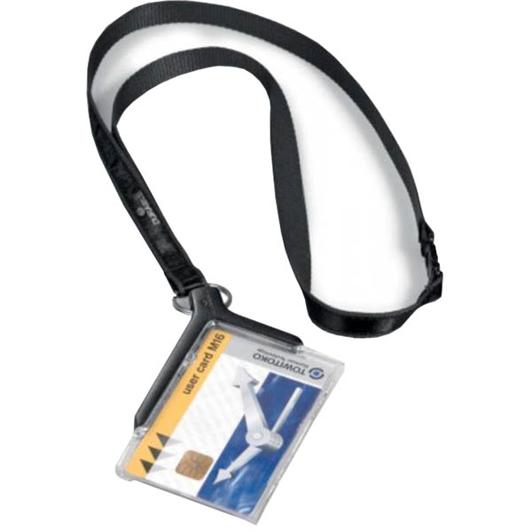 Durable Card Holder De-Luxe Pro Each (Pack of 10)