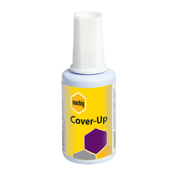 Marbig® Correction Fluid Cover Up 20ml (Pack of 20)