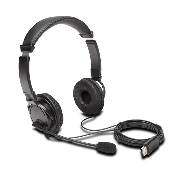 Kensington® Usb-a Headphones With Mic