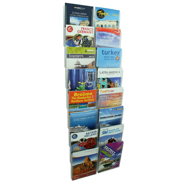 Esselte Cliplock Brochure Holder A4 8t-16 Com