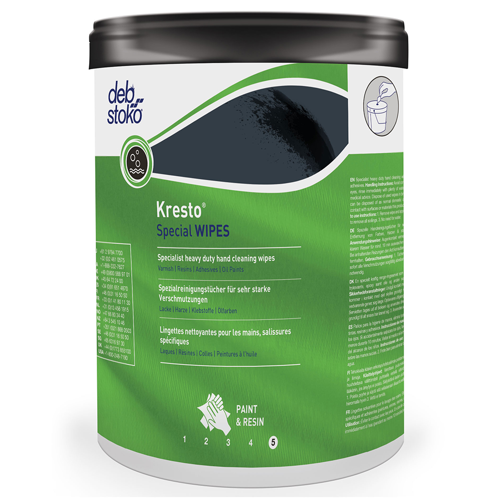 Deb Stoko Kresto Special Wipes 70 Wipe Bucket