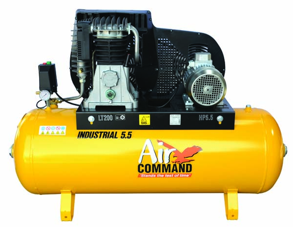 Air Command INDUSTRIAL 5.5HP Compressor-200L Tank