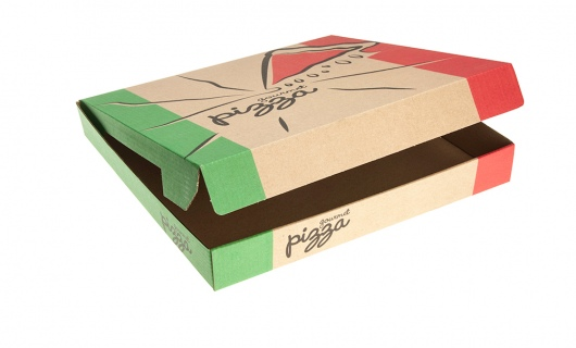 Pizza Box - Gourmet Print